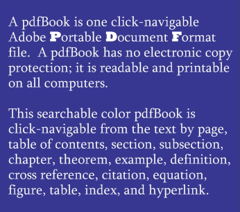 A pdfBook is an Adobe PDF file.